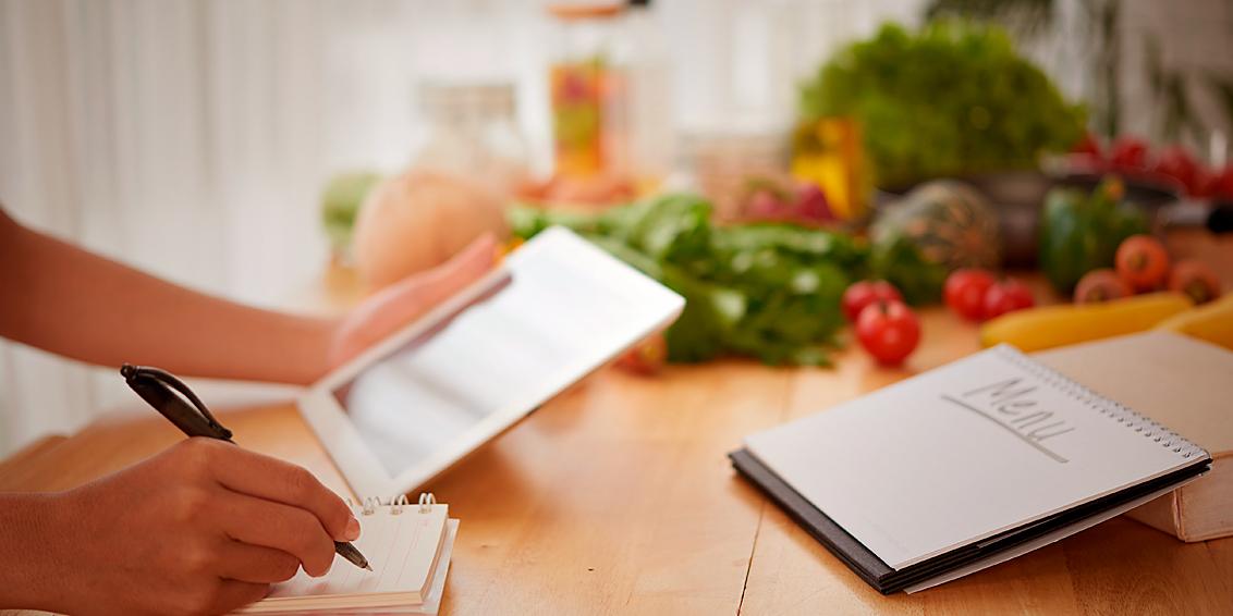 Cardápio semanal: conheça as vantagens para sua saúde e para o seu bolso