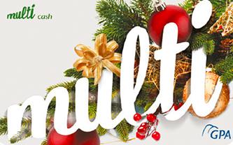 Cartão Multicash Natal - Multibenefícios GPA